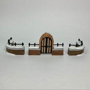 Dept 56 Churchyard Gate & Fence